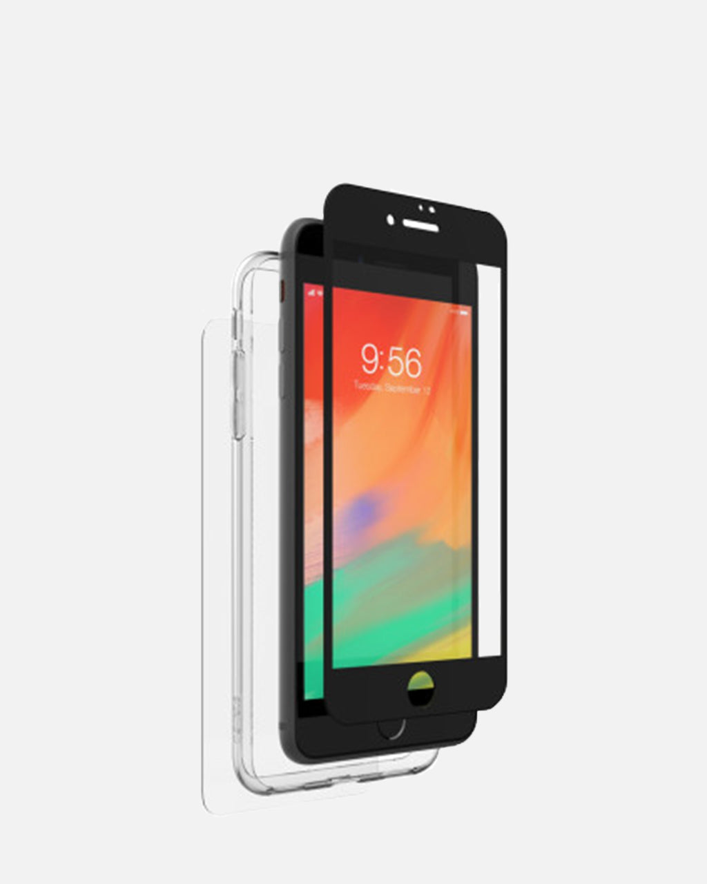 the best attitude 7cd4b 6abdd Zagg InvisibleShield Glass+ 360 Full Body with Bumper for iPhone 8 Plus