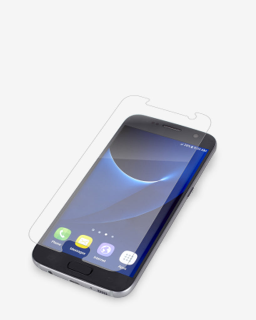 Zagg Invisibleshield Hd Clarity Screen Protector Galaxy S7 Healing Shield Curved Fit For Iphone 7 Plus Matte