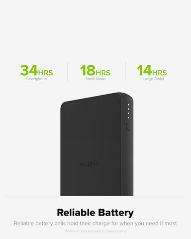mophie Charge Stream Powerstation Wireless External Battery Charger