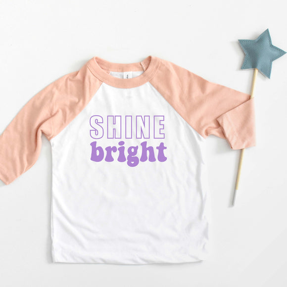 Shine Bright Raglan