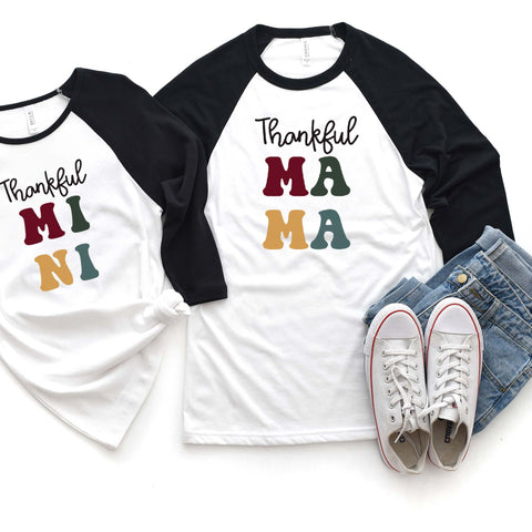 Thankful MAMA Raglan [Womens]