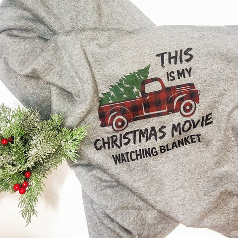 Christmas Movie Blanket