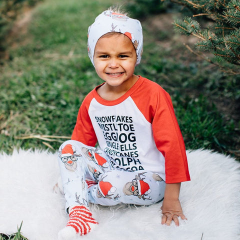 Christmas Raglan [Kids]