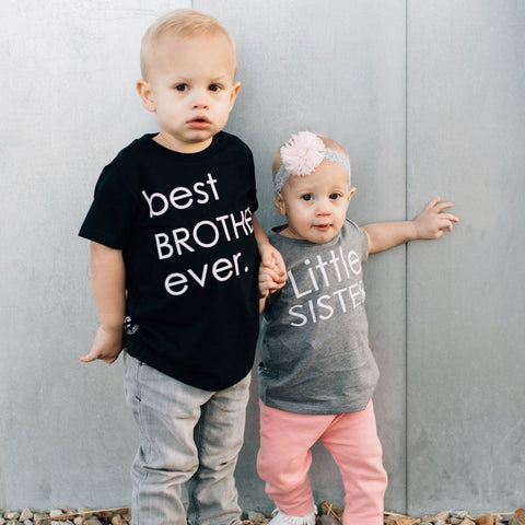 Little Brother/Sister Tee [Kids]