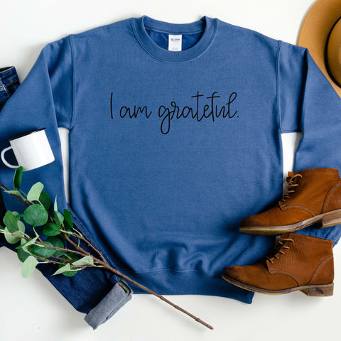 I Am Grateful Sweatshirt [Womens]