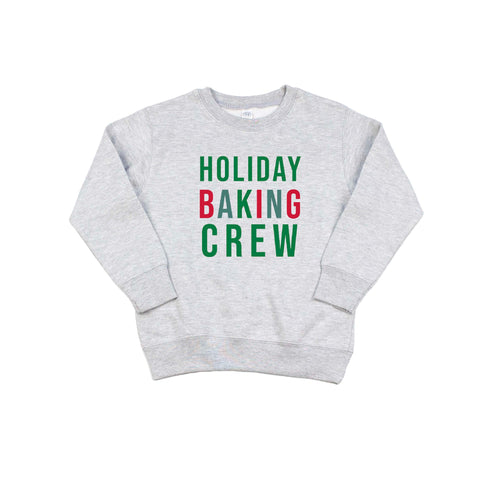 Holiday Baking Crew Sweatshirt [KIDS]