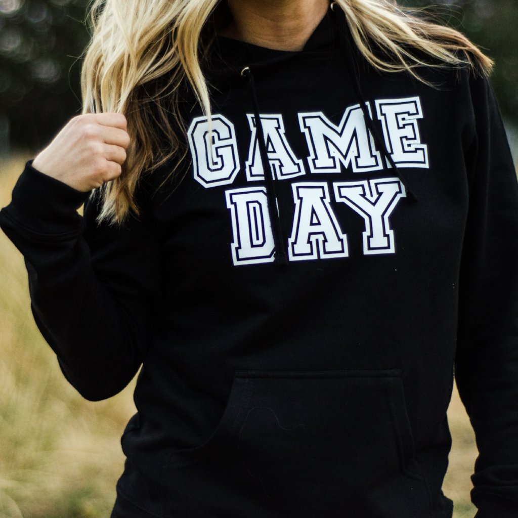 Game Day Hoodie {multiple color options}
