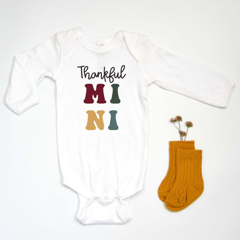 Thankful MINI Bodysuit [KIDS]