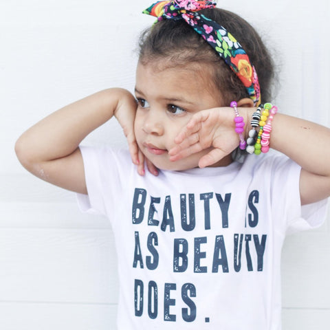 Beauty is as Beauty Does {Kids}