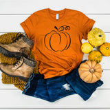 Pumpkin Tee [Womens]