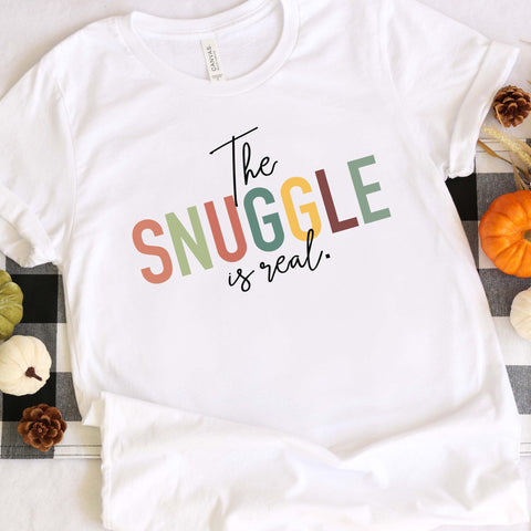 Snuggle is Real Tee [Womens]