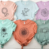 Flower Tees [Womens]