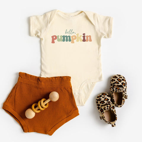 Hello Pumpkin Bodysuit [KIDS]