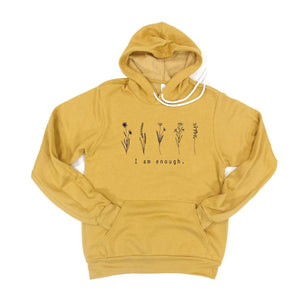 I Am Enough Hoodie [Womens]