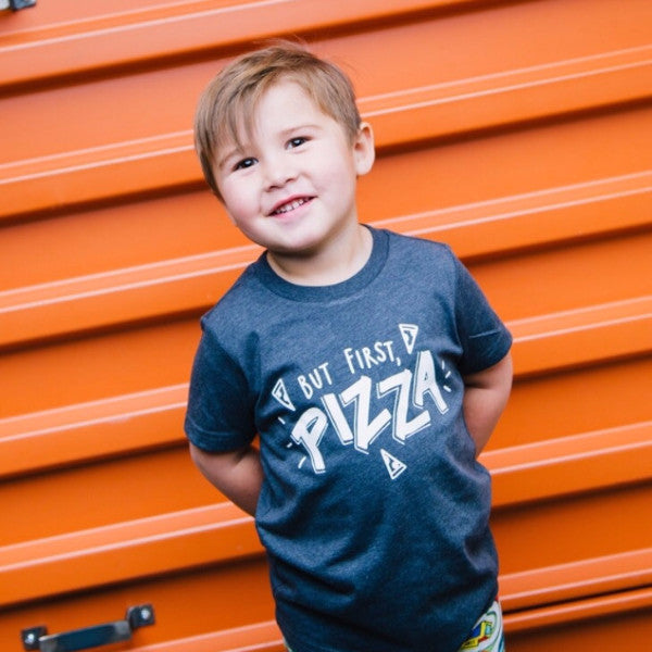 First, Pizza {Kids}