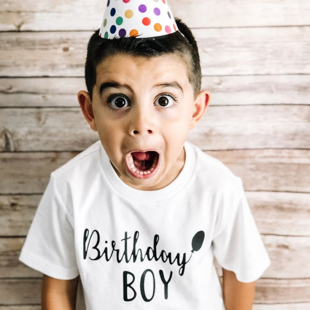 Birthday BOY tee {kids}