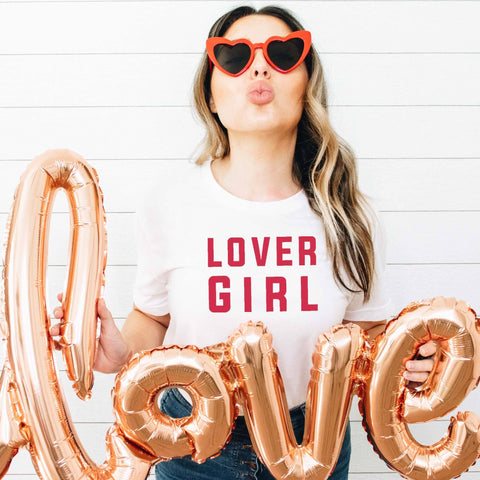 LOVER GIRL Tee [Womens]