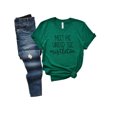 Meet Me Under the Mistletoe [Womens]