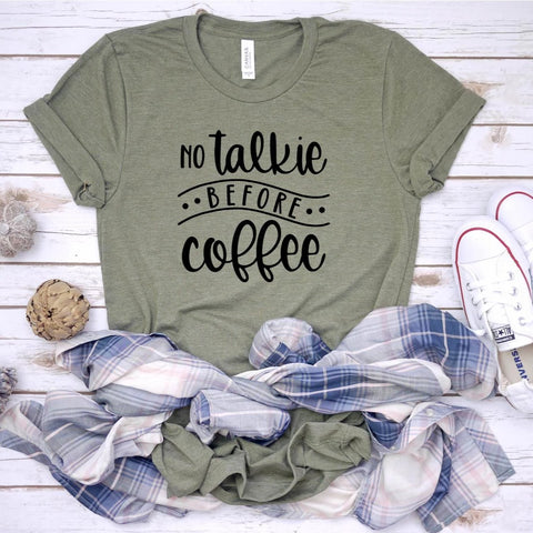 No Talkie Before Coffee [Womens]
