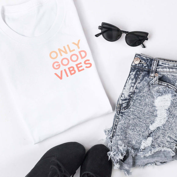 Only Good Vibes Tee [Womens]