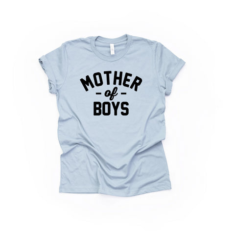 Mother of BOYS Tee [Womens]