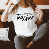 Stay At Home Teacher [Womens]