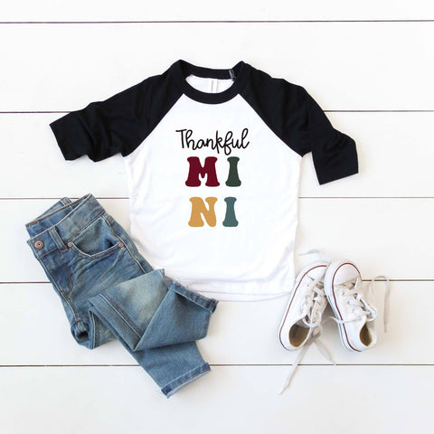 Thankful MINI Raglan [KIDS]