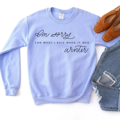 Winter Sweatshirt [Womens]