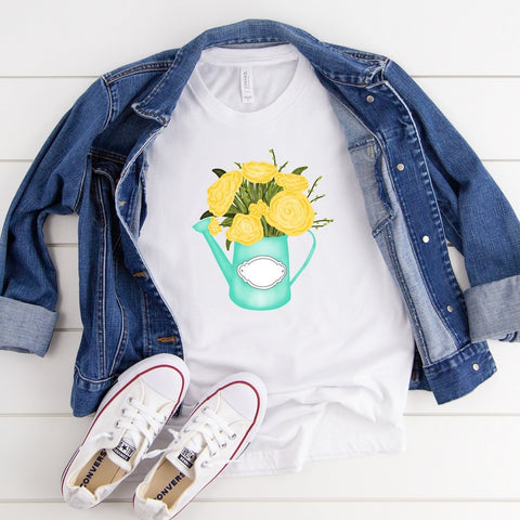 Spring Flowers - Yellow [Womens]