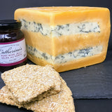 Double Gloucester with Stilton Cheese