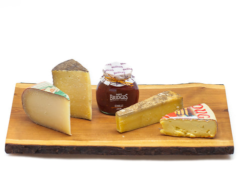 International Cheese Sampler