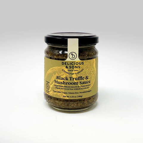Delicious & Sons Black Truffle and Mushroom Sauce-from Cheesyplace