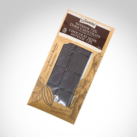 Donini Intense 72% Dark Chocolate Bar