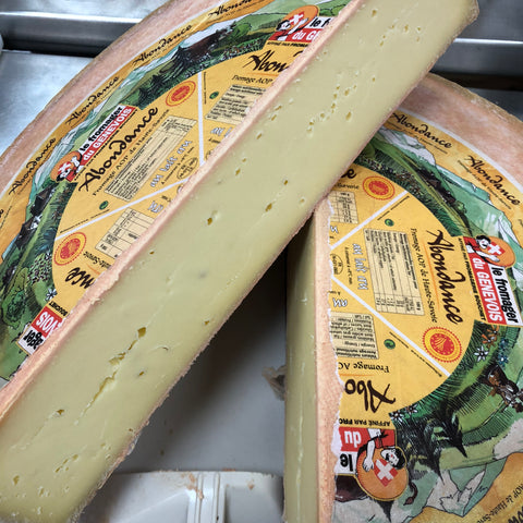 Tomme d'Abdondance Cheese