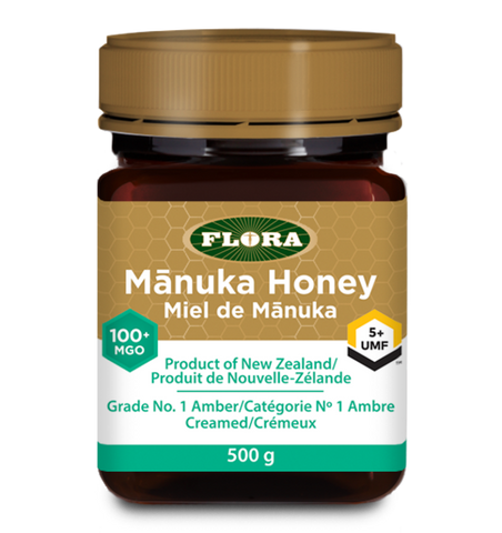 Manuka Honey MGO 100+ (5+ UMF) by Flora 500g