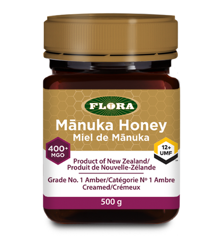 Manuka Honey MGO 400+ (12+ UMF) by Flora 500g