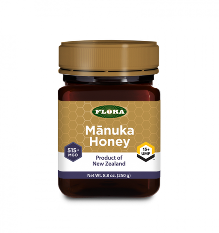 Manuka Honey MGO 550+ (15+ UMF) by Flora 250g