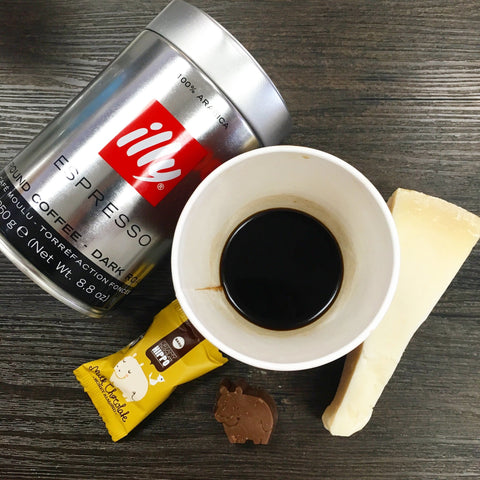 Illy Espresso Ground Coffee - Dark (250g) - Cheesyplace.com  - 1