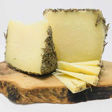 Don Heliodoro Rosemary Sheep Cheese