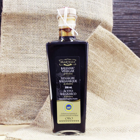 Martelli Balsamic Vinegar Aged ORO - Cheesyplace.com  - 1