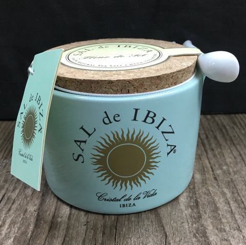 Salts & Spices - Sal De Ibiza 150g Ceramic W/Spoon