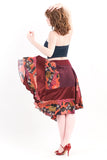 marsala mountains skirt