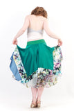 jade candy circle skirt