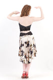 the signature skirt in ink rose
