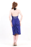 forget-me-not halter dress