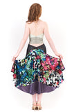 the signature skirt in back garden