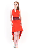 fire ruched dress