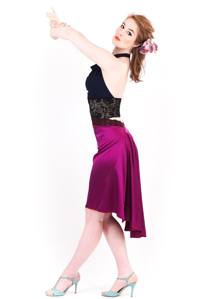 the signature skirt in sparkling