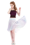shell ombre circle skirt