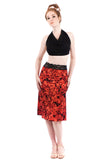 bed of roses fluted skirt